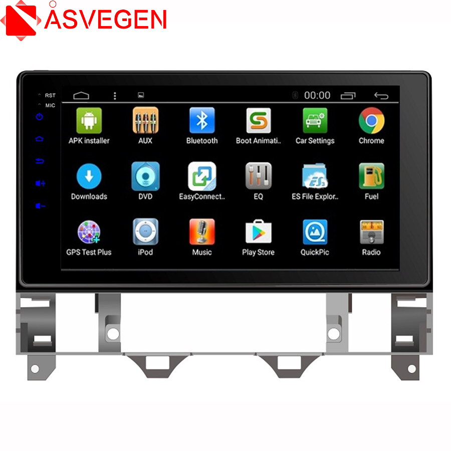 Car Stereo For <font><b>Mazda</b></font> Axela Atenza <font><b>6</b></font> 2007 10.2'' Quad Core Android 7.1 Auto Stereo <font><b>GPS</b></font> Navigation <font><b>System</b></font> Multimedia Car Player image