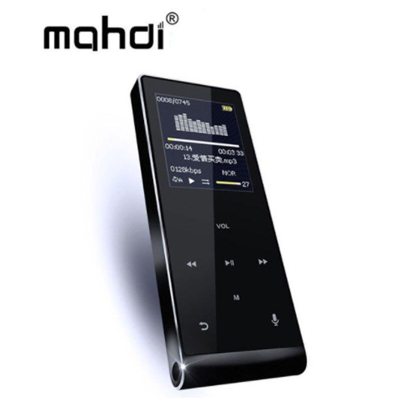 Tragbares Audio & Video Mp4 Player Mahdi M290 Bluetooth Hifi Mp4 Player 8g Touchscreen Bruchsicher Kratzfest Pedo Meter Recorder E-buch Video HeißEr Verkauf 50-70% Rabatt