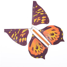 1PCS Hot Selling magic flying butterfly change from empty hands freedom butterfly close up magic tricks kids toy funny gadgets(China)