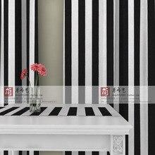 Ls cl 013 5 5 black white stripe canvas font b curtain b font balcony customize