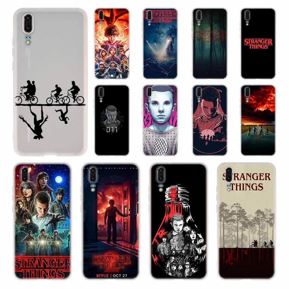 <font><b>STRANGER</b></font> <font><b>THINGS</b></font> <font><b>Phone</b></font> <font><b>Case</b></font> For <font><b>Huawei</b></font> P8 P9 <font><b>Lite</b></font> 2017 P10 <font><b>P20</b></font> P30 <font><b>Lite</b></font> Plus Pro P Smart 2019 Cover Soft Cover image