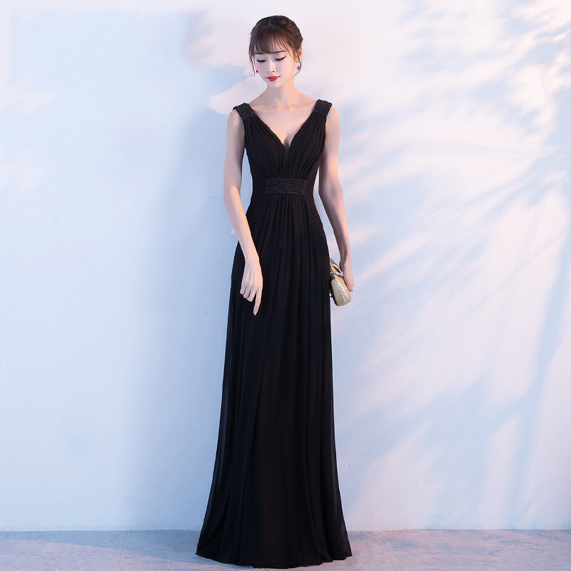 Luxe strass arc Long femmes Vestidos Sexy col en v dos nu Cheongsam élégant fête robe de bal filles Qipao grande taille 3XL 4XL