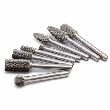 Carbide Burr Bits | 8Pcs 1/4