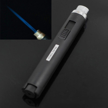 1300 degree welding torch type butane gas camping outdoor barbecue windproof lighter equipment