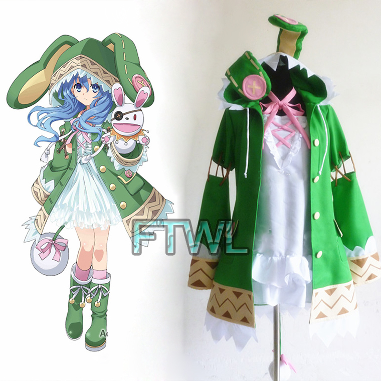 Aliexpress.com  Buy Anime Date A Live Outfit Yoshino Cosplay Costume Women Halloween Costume ...