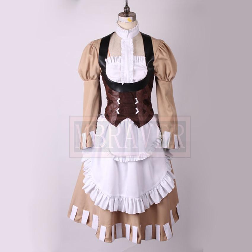 New Anime Fire Emblem:Awakening Lissa Cosplay Costume Dress Halloween Uniform