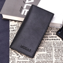 Wallet Men Leather Wallets Purse Long Male Clutch Mens Money Bag Quality Guarantee