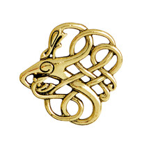 La signorina Zoe Vichingo Norse Drago pin Spilla Pin Abito Antico oro Argento Collare Camicia Corpetto Badge Regalo Per Boy Friend marito(China)