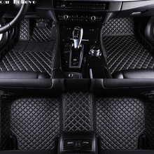Car Believe Auto car floor Foot mat For jeep grand jeep grand cherokee 2014 compass 2018 commander waterproof car accessories boomblock for jeep compass mp 552 2017 2018 waterproof anti slip car trunk mat tray floor carpet pad protector auto accessories