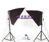 Softbox Set Photographic Equipment 50 70cm Single Lamp Softbox Photography Light Clothes Portrait