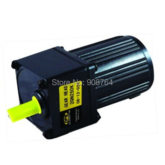 ФОТО AC004#  6W 200rpm AC motor with  reducing speed gear 2gn7+ik6rgn AC gear motor