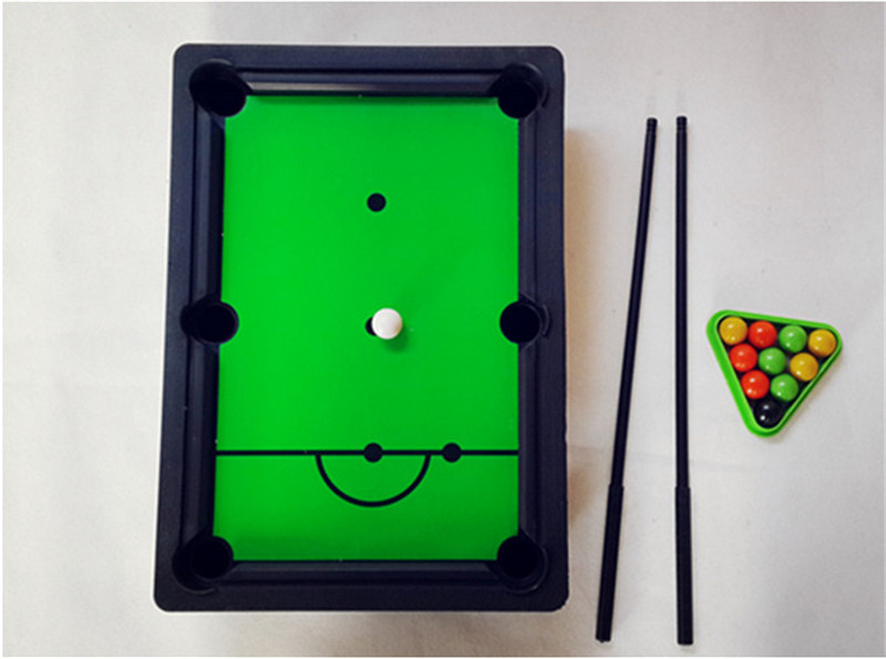 Mini Desktop Pool Table Kids Educational Toys Childrens Billiard - Billiard pool table supplies
