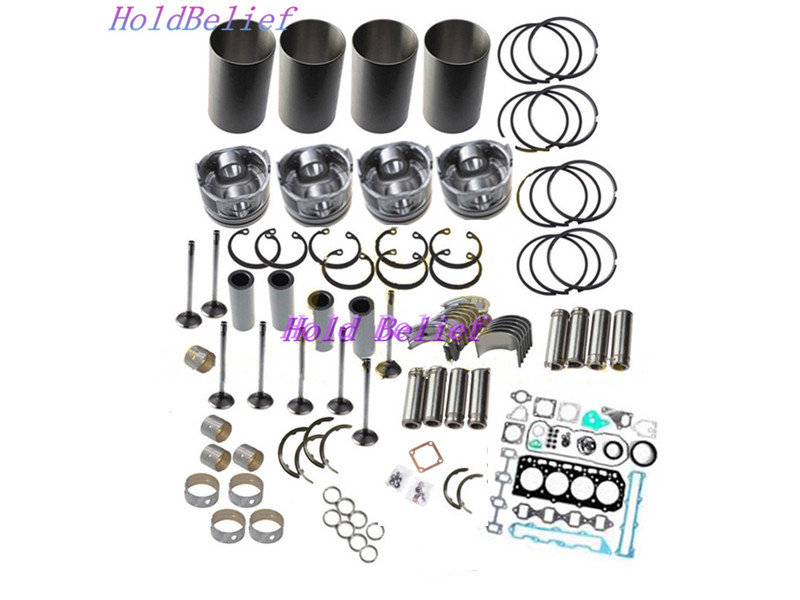 Overhaul Rebuild Kit For Mitsubishi 4D56T 4D56 SOHC 8-Valve Triton Pajero Engine