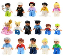 lepin duplo figures house farm minifigures building blocks set compatible lepin duplo zoo/train education original toy