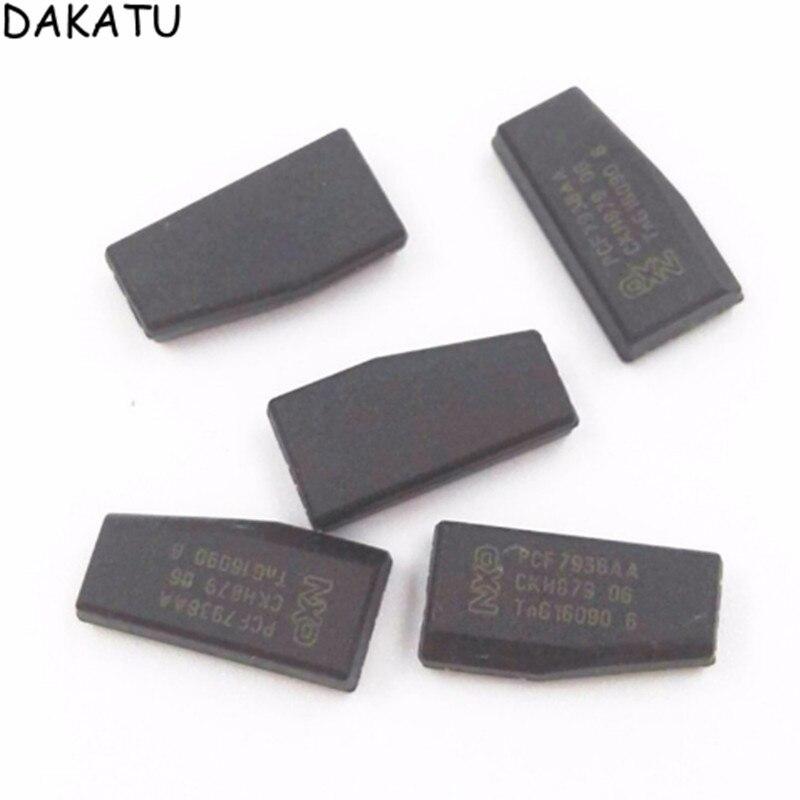 DAKATU Original ID46 คาร์บอน transponder ชิป TP12 ล็อคสำหรับ BUICK PCF7936AA ID46 Crypto ล็อคกุญแจรถชิป