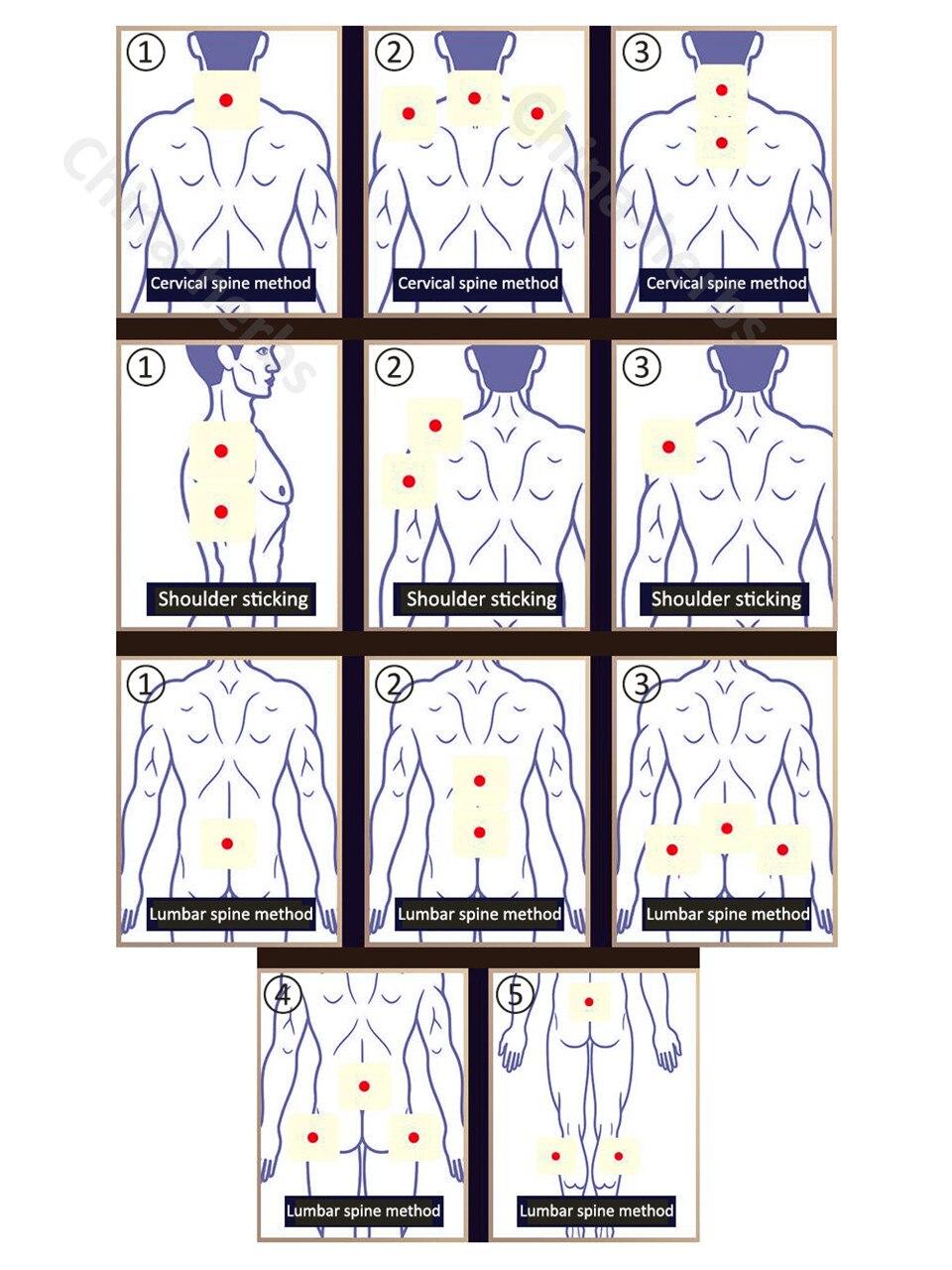 25pcs / lot Band De Li ZB Pain Relief Patch Plasters Gypsum analgesik - Penjagaan kesihatan - Foto 4