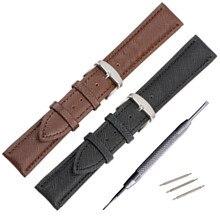 12mm 14mm 16mm 18mm 20mm Watch Strap Watch Bandslizard Pin Buckle clasp for fashion watches women Accessories Watchband стоимость
