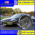 Super White LED Daytime Running Lights For 2005 2008 Citroen C6 Drl Light Bar Parking Car Fog Lights 12V DC Head Lamp