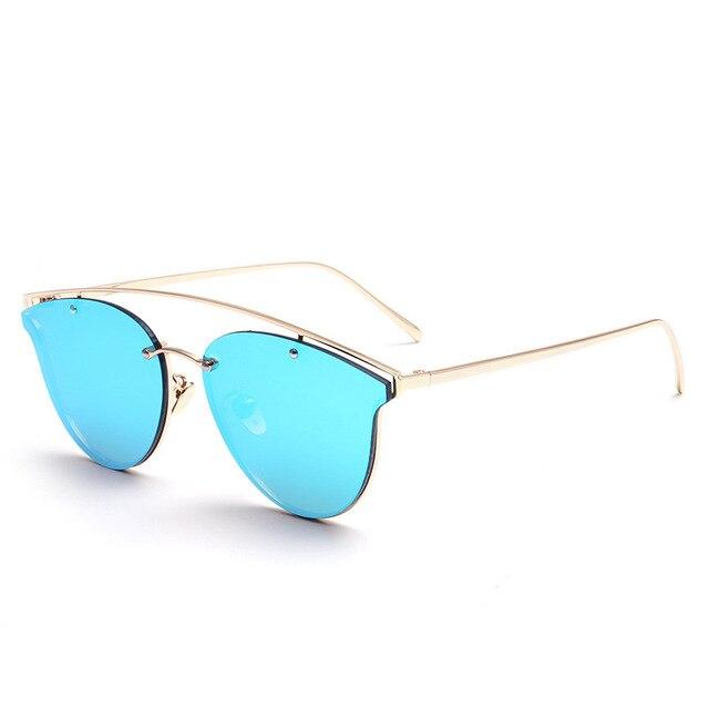 186b2d5fba8 Beyond Star Trendy Fashion Women Sunglasses Luxury Ladies Cat Eye Designer  Brand Sunglasses Women Glasses Female UV400 7 Colors