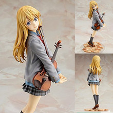 action figure your lie in april kaori miyazono cartoon doll PVC 20cm japanese figurine world anime 3D model все цены