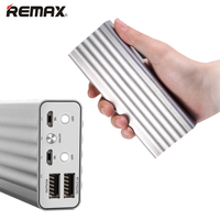 REMAX Power Bank 20000mAh Dual USB Portable Fast Charging Powerbank External Battery Charger Backup for iPhone 6 6s Smartphones
