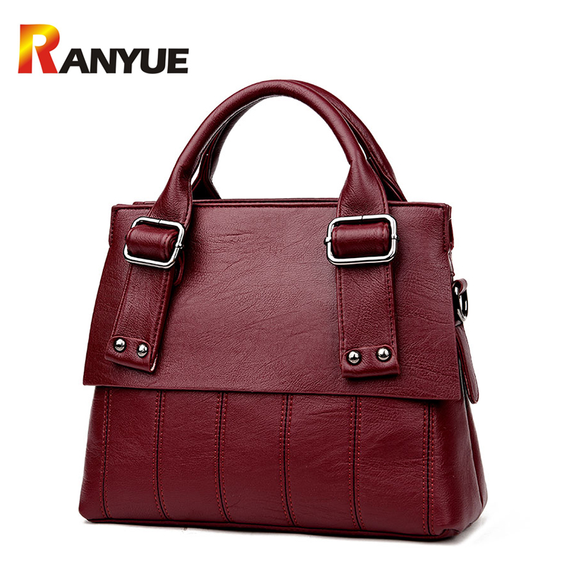 Luxury Handbags Women Bags Designer Fashion Ladies Crossbody Bag PU Leather Women Shoulder Messenger Bags Solid Casual Tote Bag 2017 new fashion luxury handbags women leather bags designer college students crossbody shoulder messenger bags small bag baobao