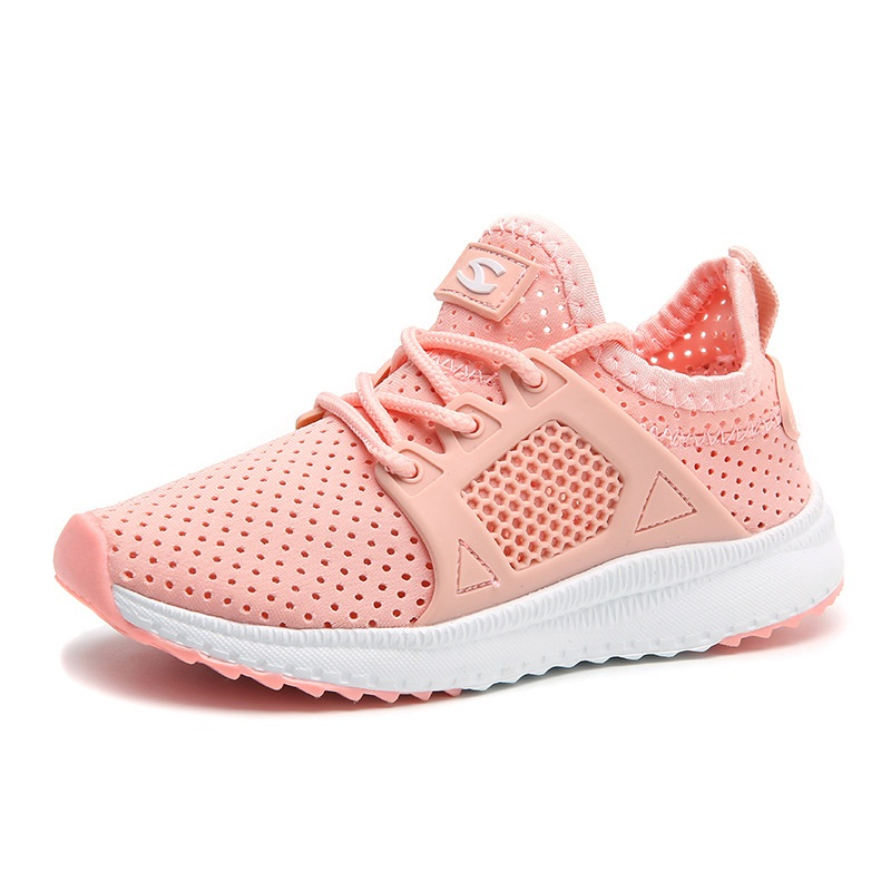 Children Candy Color Casual Shoes Comfortable Breathable Anti Slip Sneakers Kids Wear Resistant Soft Slip On