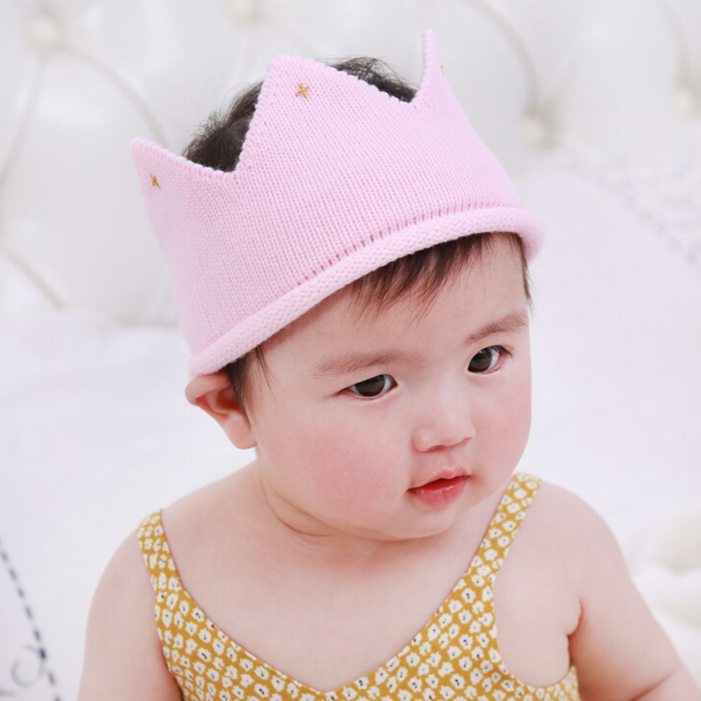 Latest Collection Of New 1pc Woolen Yarn Cute Baby Boys Girls Crown Knit Headband Hat Hairband Hair Accessories Tool Se7 Hair Care & Styling Beauty & Health