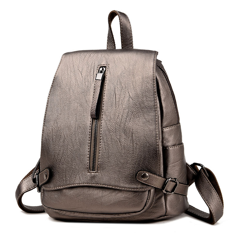 Fashion Women Backpack Leather School Bags Backpacks for Teenage Girls Female Schoolbags Shoulder Bags Bagpack mochila sac a dos