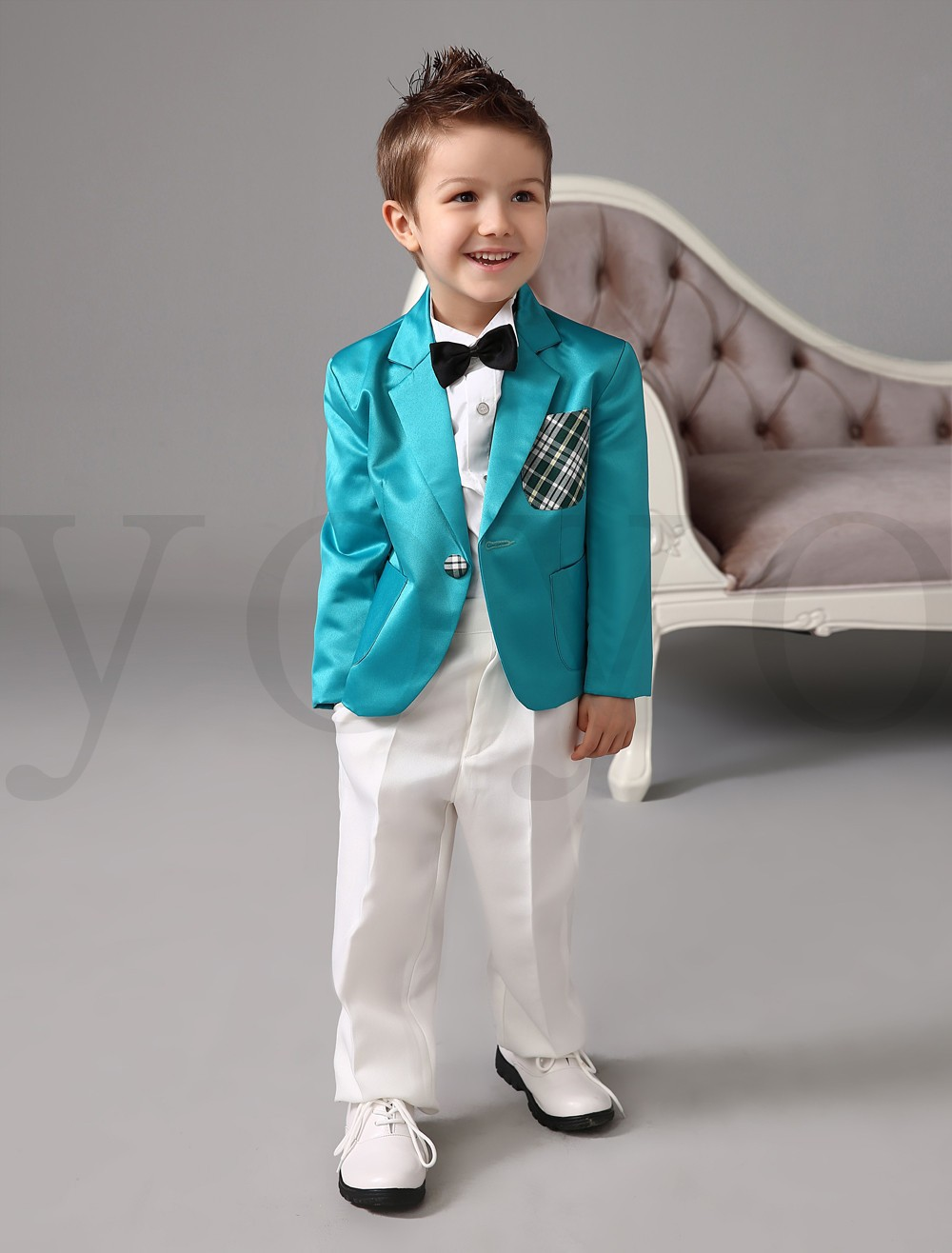 Summer Style Casual Boys Suits for Weddings Boys Party Clothes (Coat ...