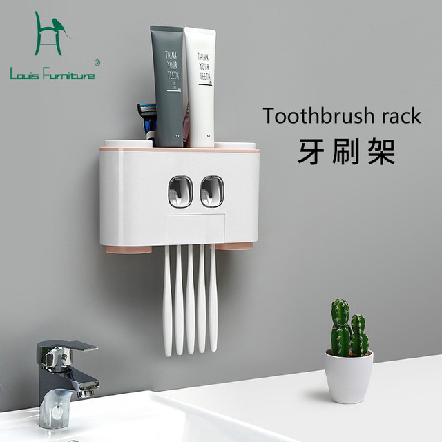 Louis Fashion Toothbrush Racks Department Home Dormitory Creative Life Daily Necessities Practical