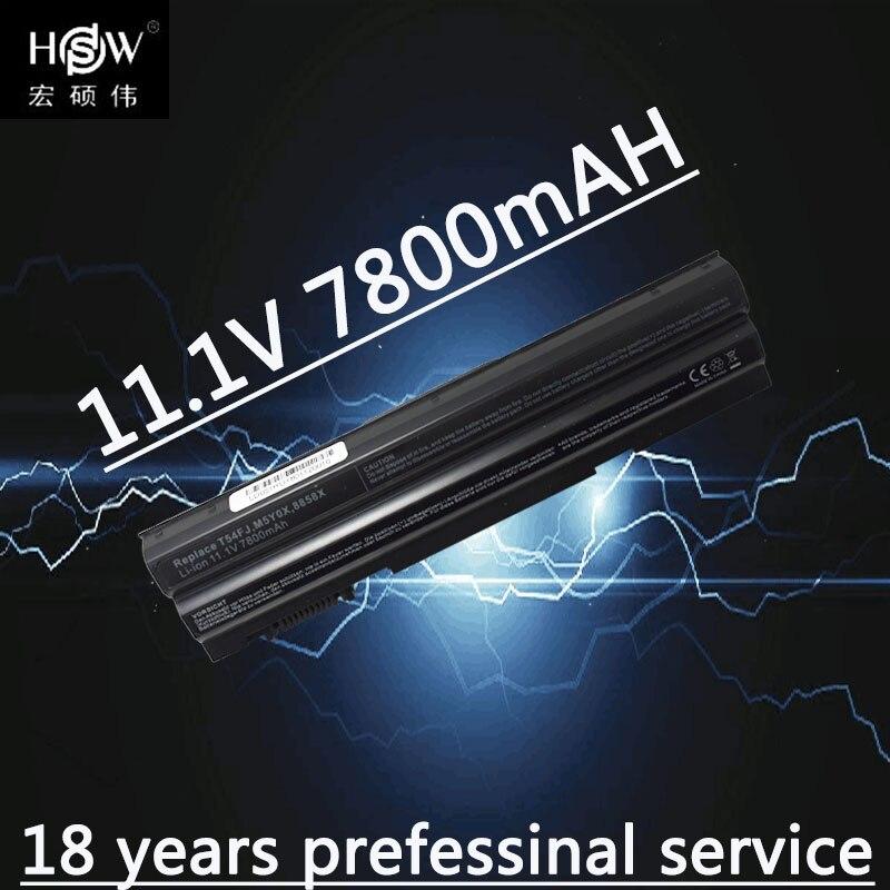 HSW 9 cellulaire Nouvelle batterie d'ordinateur portable Pour DeLL pour Latitude E5420 E5430 E5520 E5530 E6120 E6420 E6430 E6520 E6530 Vostro 3460 3560