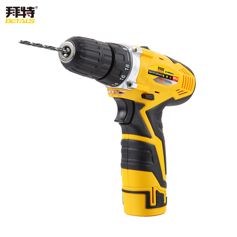 Betals 12V Cordless Screwdriver Electric Drill Electric Screwdriver Rechargeable Lithium Battery Waterproof Hand LED Light  цены