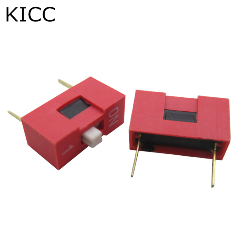 Super 10Pcs Red Toggle Switch 1 Limit 2 54Mm Dip2 Coding Number Switch Ds Wiring Cloud Peadfoxcilixyz