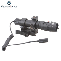 Vector Optics Magnus Green Laser Designator Flashlight Sight with Barrel Mount Remote Switch Battery Charger For Night Hunting