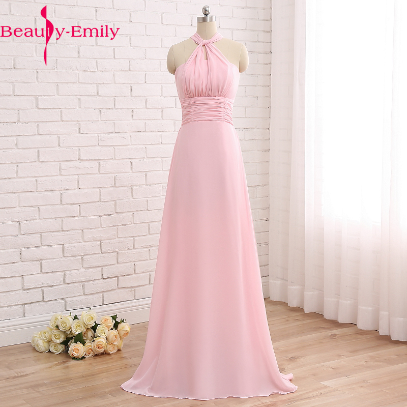 2018 prom   dress   pink summer graduation party chiffon   Evening     Dresses   multi-wearing homecoming   dresses   cheap vestido de festa