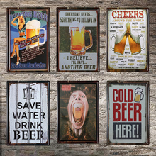 Cheers Decor Drink Metal Signs Bar Pub Club Hotel Shop Family Home Wall Plaque Vintage Poster 1001(255)