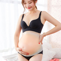 2 10 Months 100% Medical Silicone Belly Fake Pregnant False Tummy Artificial Stomach For Actor Dragqueen Crossdresser Performer