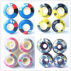 4 шт./компл. США колёса для скейтборда 50-54 мм колёса для скейтборда диски для колес для двойных качелей колода PU Ruedas Patines пластик Rodas