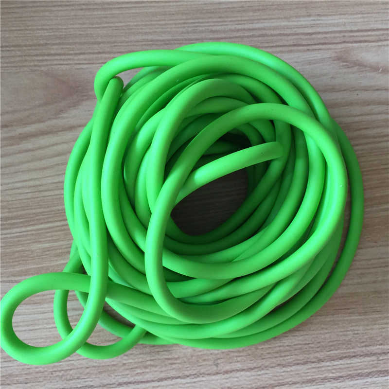 10 M / Bag Green 3060 Od6mm And Id3mm Shooting, Hunting, Slingshot Rubber Hose Strapping New A-135