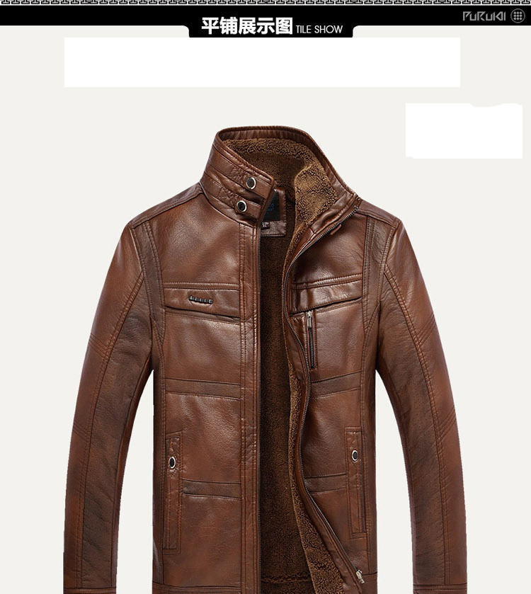 HTB1hOPjaUjrK1RkHFNRq6ySvpXaI XingDeng PU Brand High Leather Jacket Men Coats plus 5XL Quality  Outerwear Men Business Winter Faux Fur Male top clothes Fleece