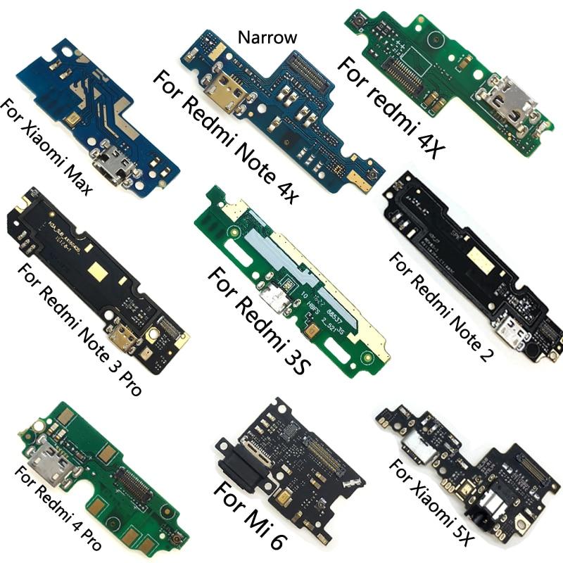 For Redmi Note 3 Pro Se USB Port Charger Board Dock Plug Connector For Xiaomi Redmi Note 4X Max 5X Note 2 3S 4 6 7 8 Pro K20