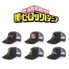 Anime mi héroe Academia Izuku Midoriya Katsuki Bakugou todo podría negro  camionero de la malla gorra de béisbol de dibujos anima. 5a6b9cb7f71