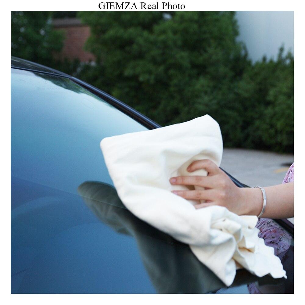GIEMZA чистки замши для оконных стекол 1 шт. замши Костюмы чистых поставок автомобиль чистящий комплект продукты Инструменты полотенца