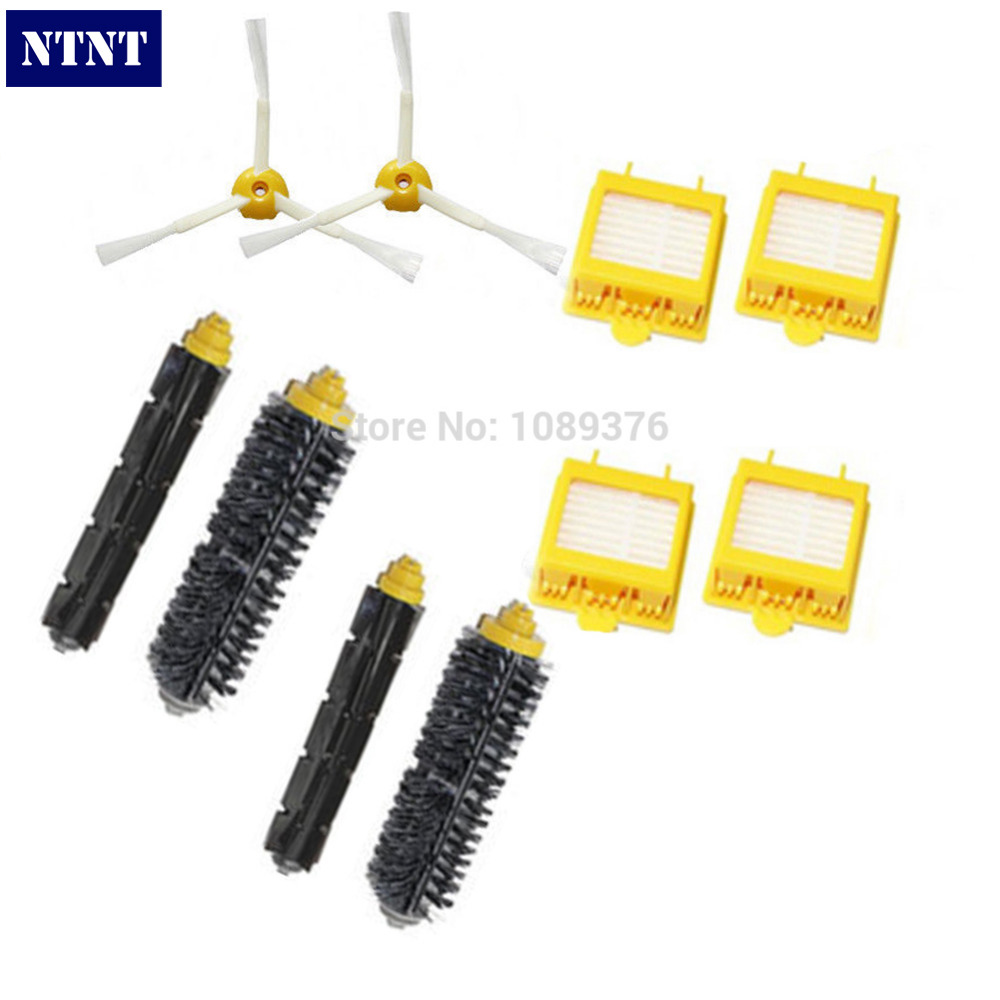 NTNT Free Post New Filters Brush Pack Big Kit for iRobot Roomba 700 Series 3 Armed 760 770 780
