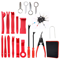 Car Trim Removal Tool 30pcs Auto Door Panel Removal Tool for Dash Center Console Installation and Remover with Terminal Remova