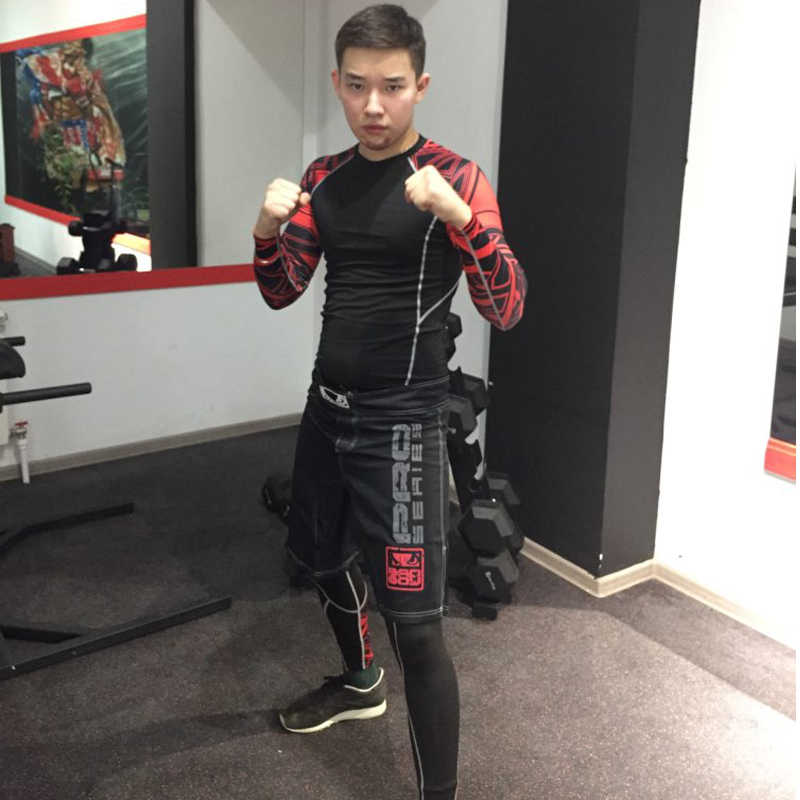 Winter Thermisch Ondergoed Sets Mannen Trainingspak compressie MMA rashgard mannelijke Gym jogging pak Sport pak Fleece lange onderbroek