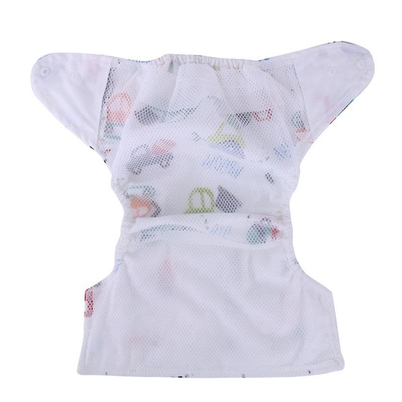 1 PC Wielokrotnego użytku Oddychające pieluchy dla niemowląt - Pieluchy i Trenowanie toalety - Zdjęcie 2