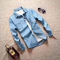 2017 Spring Autumn New Long Sleeve Slim Fit Shirts For Men