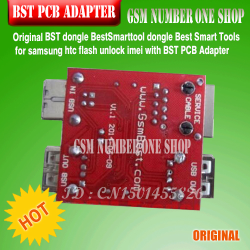 US $13 2 | BST pcb ADAPTER FOR Best Smart tool dongle Best Smart Tools for  samsung htc flash unlock imei with BST PCB Adapter-in Telecom Parts from